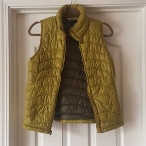 Chartreuse Puffer Vest